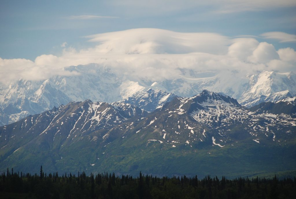 Denali (20,320') from the western end of the Alaska Highway (Photo: Paul Fitzgerald)