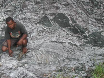 complex deformed metamorphic and igneous rocks